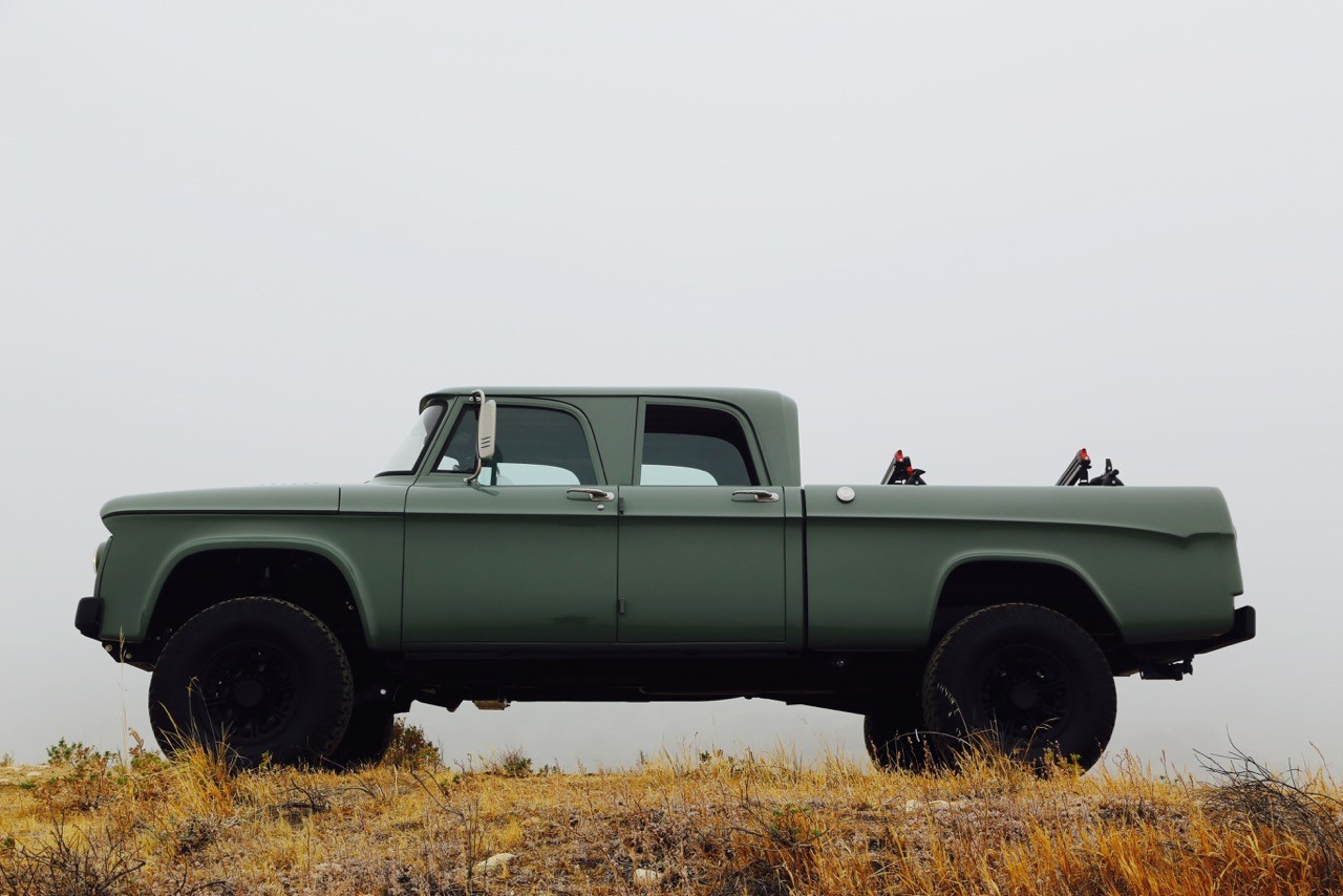 Dodge Power Wagon Hemi Restomod By Icon Is A Cool Pickup