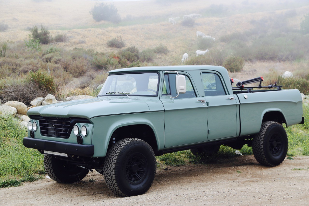 Dodge Power Wagon Hemi Restomod By Icon Is A Cool Pickup Truck