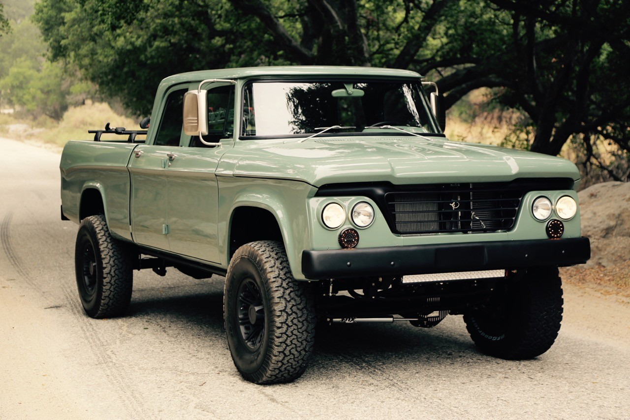 dodge power wagon hemi restomod by icon is a cool pickup truck autoevolution. Black Bedroom Furniture Sets. Home Design Ideas