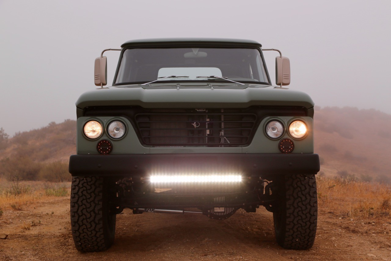 Dodge Power Wagon HEMI Restomod by Icon is a Cool Pickup Truck - autoevolution