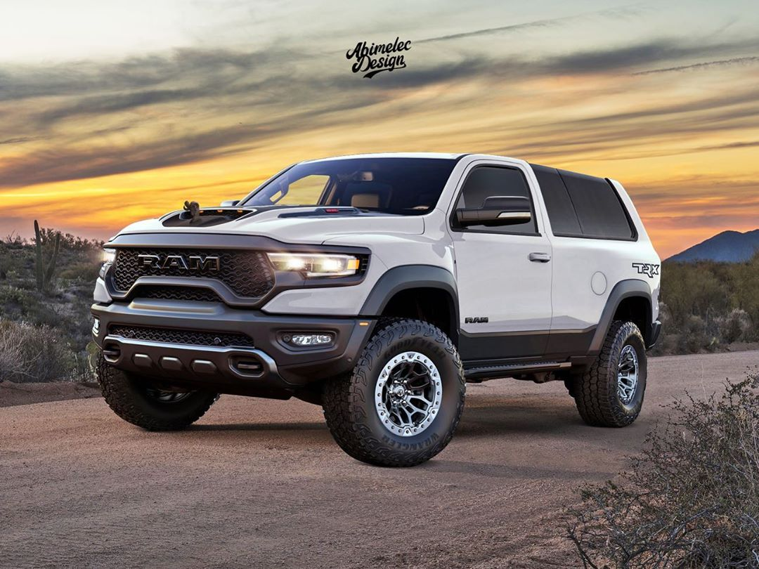 Modern Dodge Ramcharger Trx Looks Butch Out For Ford Blood Autoevolution