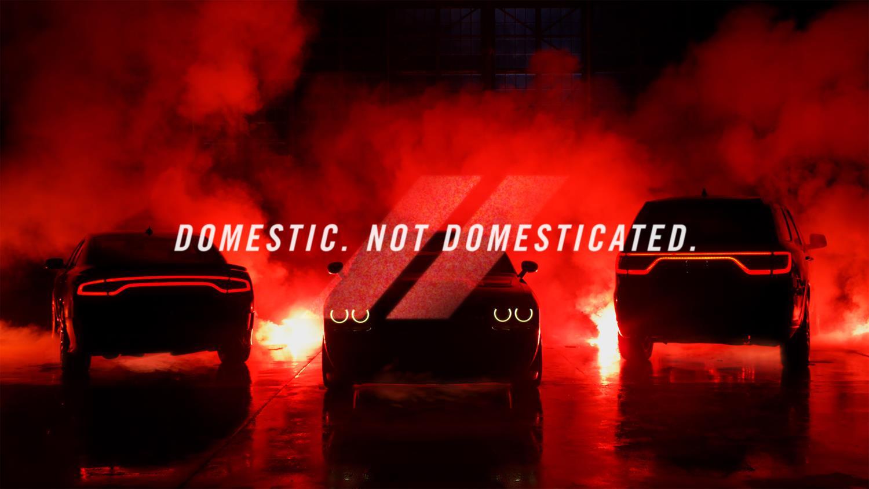 Dodge S New Quot Domestic Not Domesticated Quot Tagline Comes