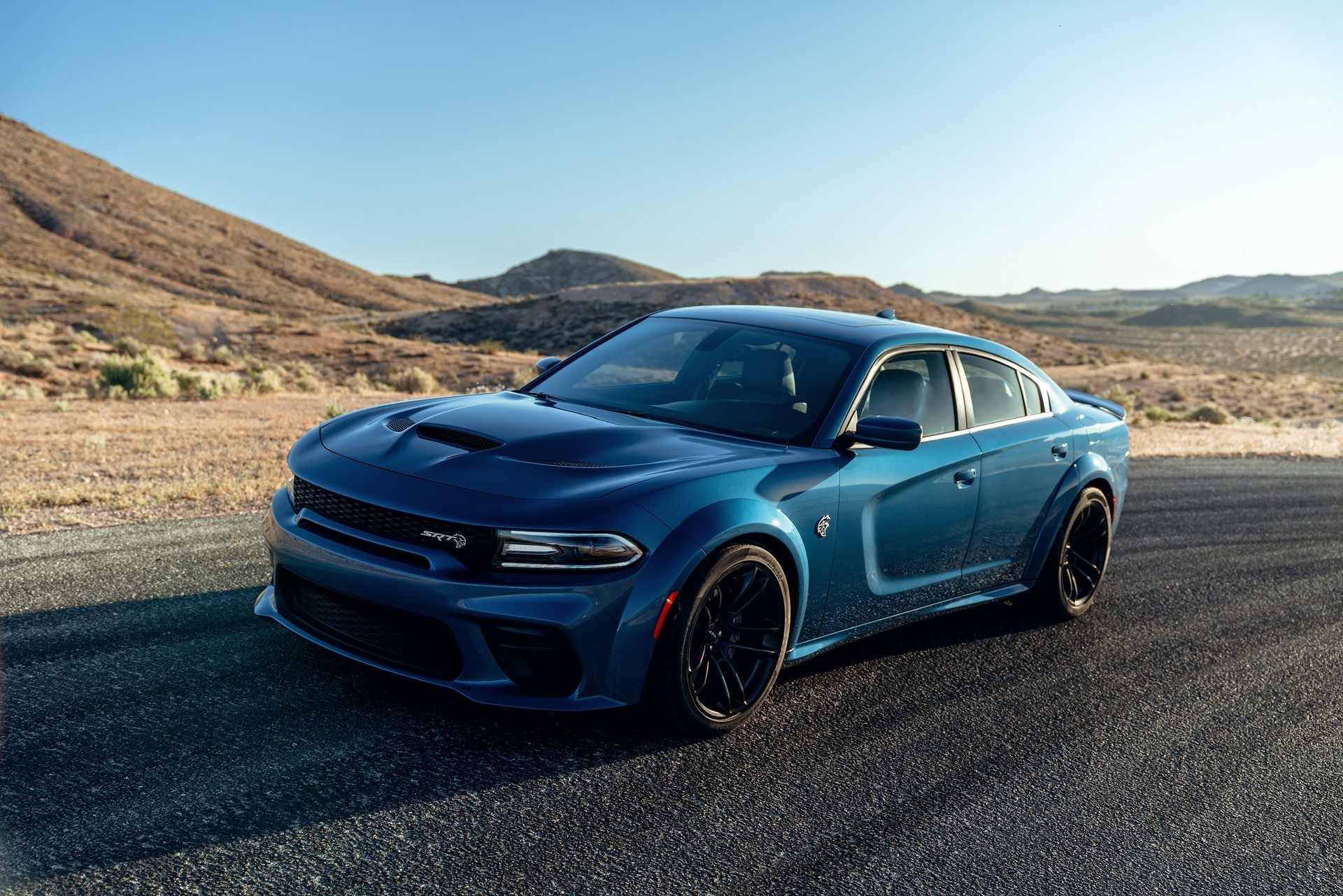 2020 Dodge Charger Hellcat Widebody Gets Full-Width Front ...