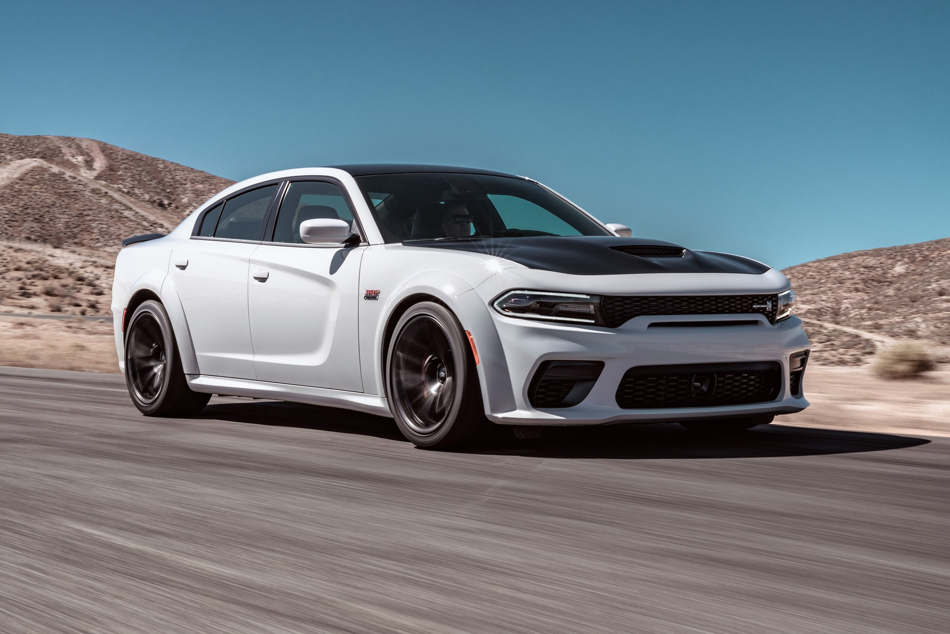 dodge unveils 2020 charger widebody  available in two v8-engined flavors