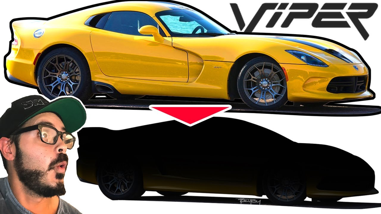 Dodge Viper Goes Full Supercar In Mid Engined Rendering Video Autoevolution