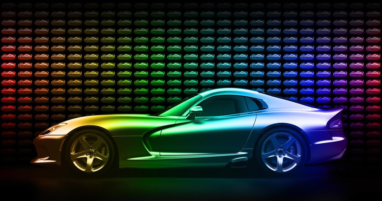 Dodge Viper GTC Invites You to Taste the Rainbow - autoevolution