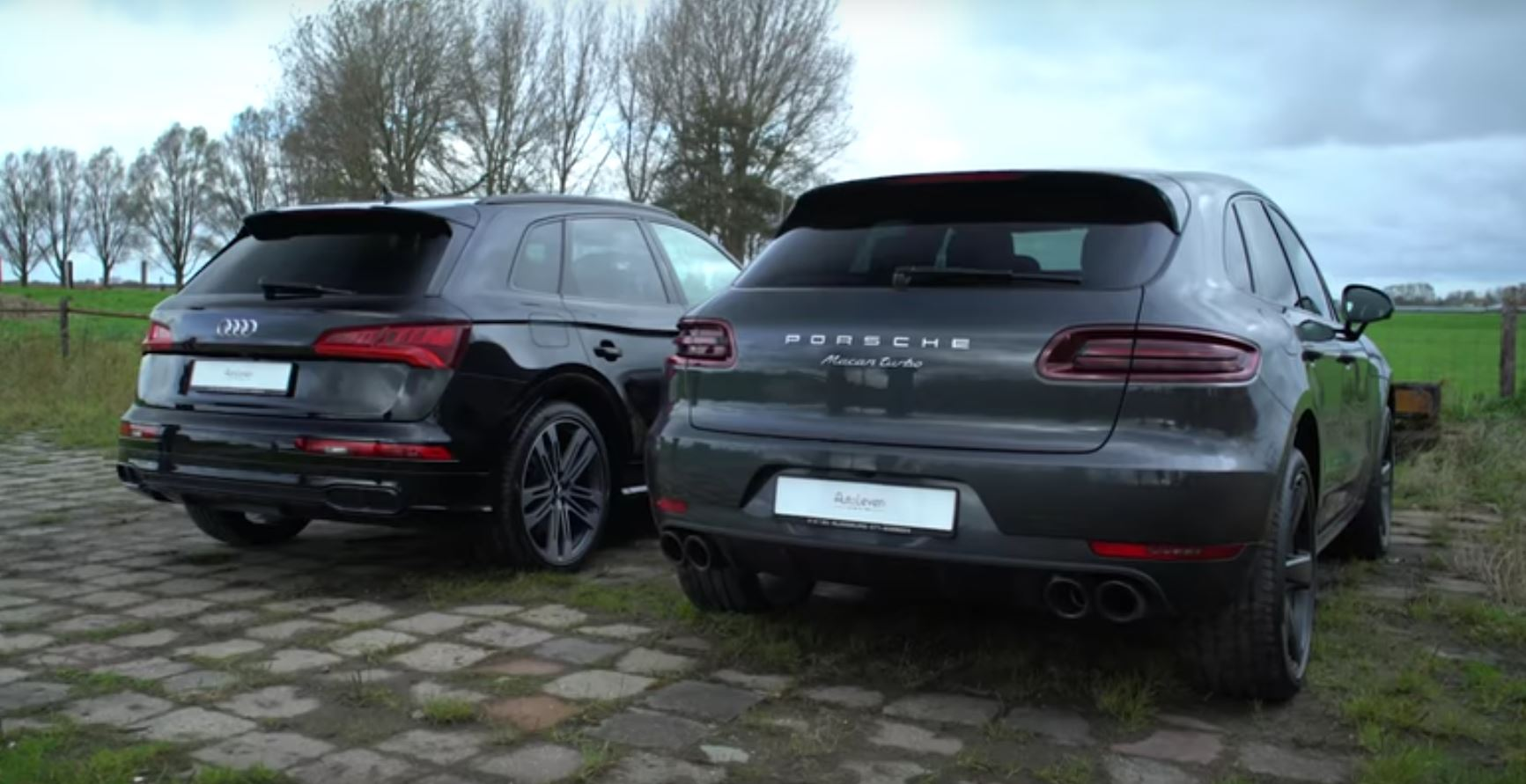 audi sq5 & porsche macan turbo
