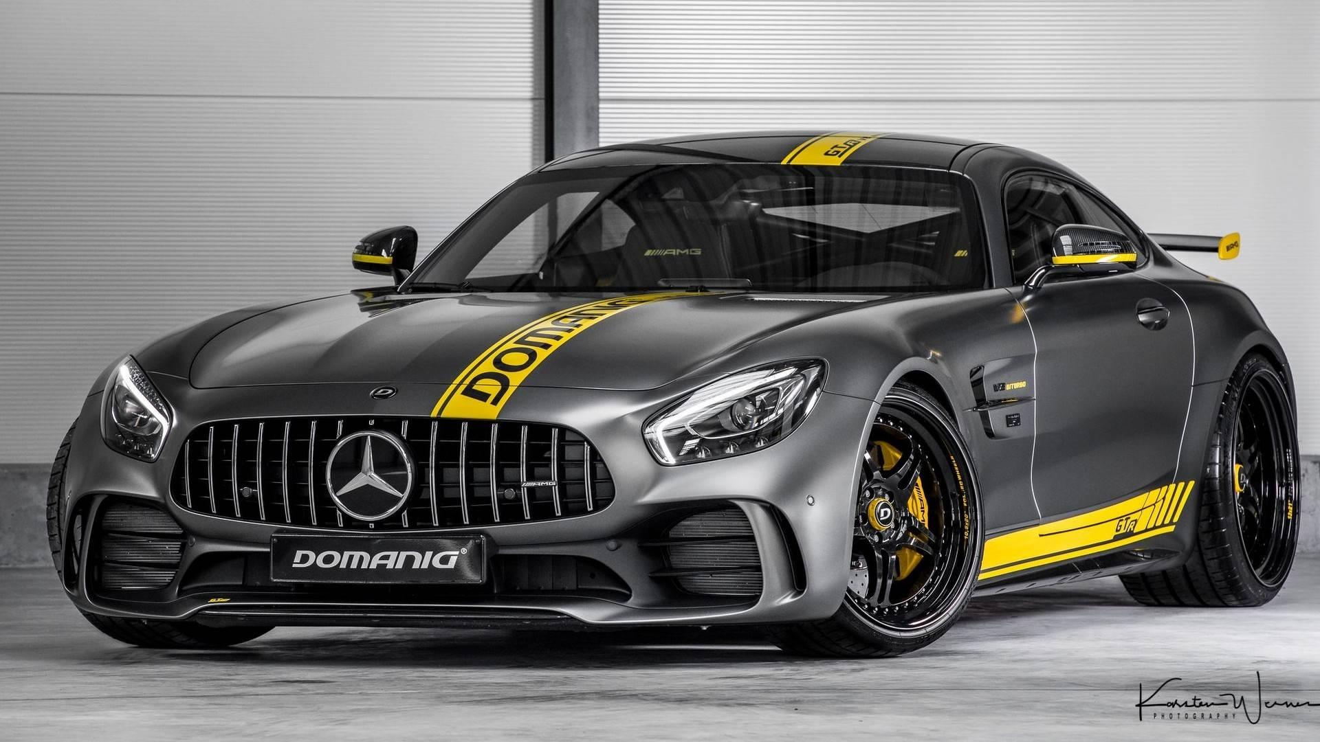 domanig gtr is not your average mercedes amg gt r tuning job autoevolution. Black Bedroom Furniture Sets. Home Design Ideas