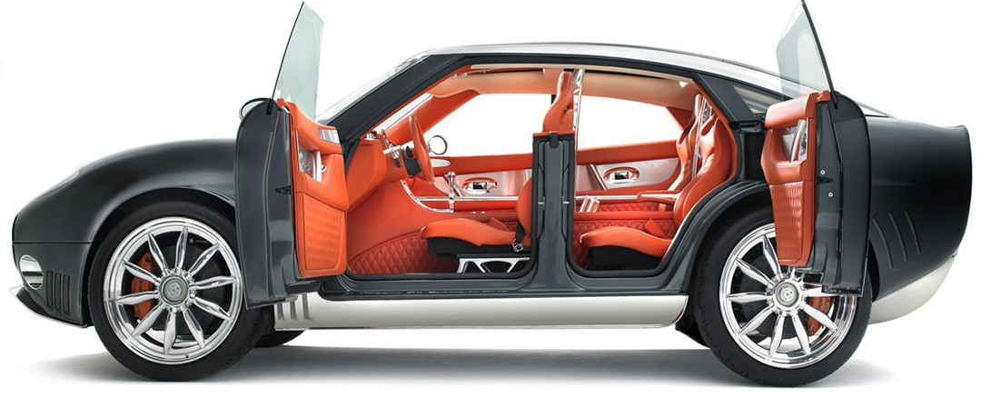 Cars With Scissor Doors >> Car Door Types - Sliding Butterfly that Commits Suicide with Scissors - autoevolution