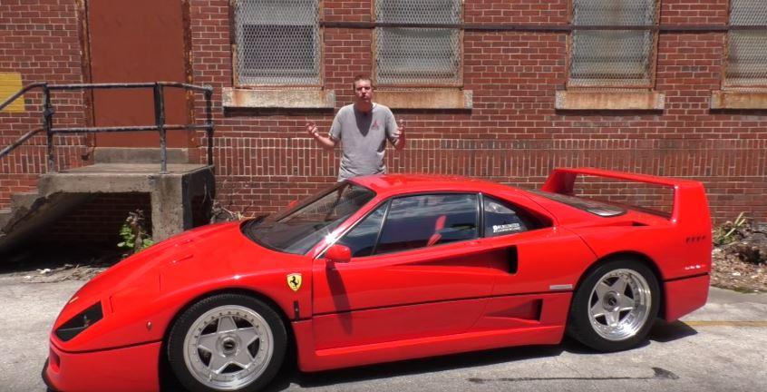 Doug Demuro Drives A Ferrari F40 You Don T Want To Make That Mistake Autoevolution