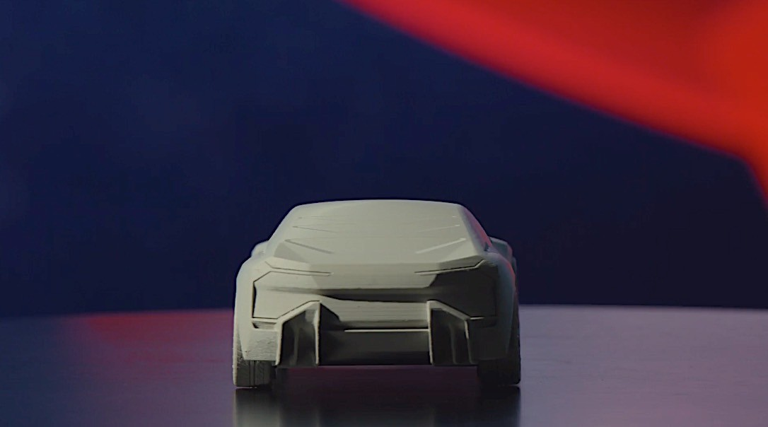 Download and 3D-Print Your Own BMW Vision M NEXT in Any Size You