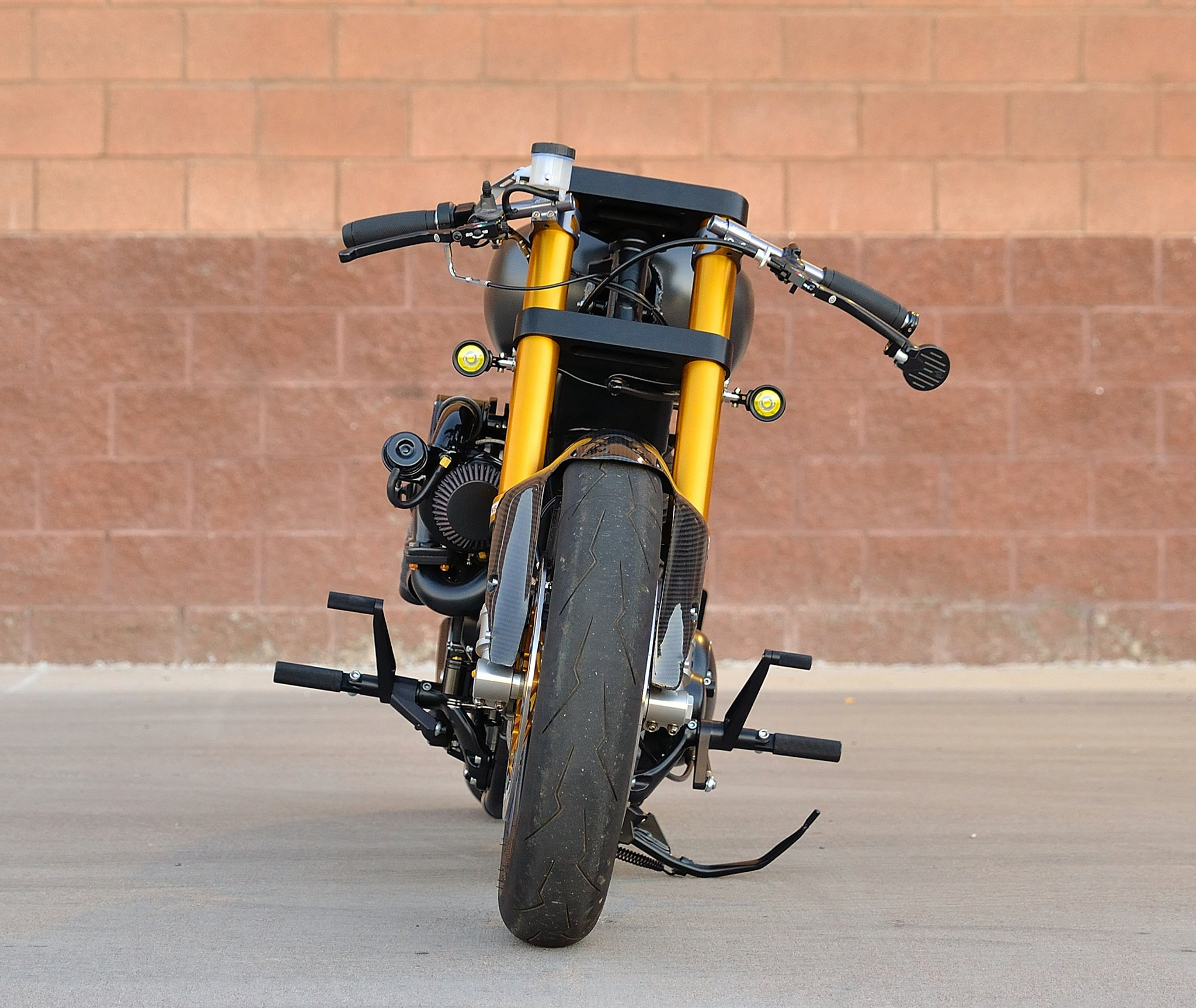 Harley Turbo Review: DP Customs Turbo Destroyer Harley Sportster