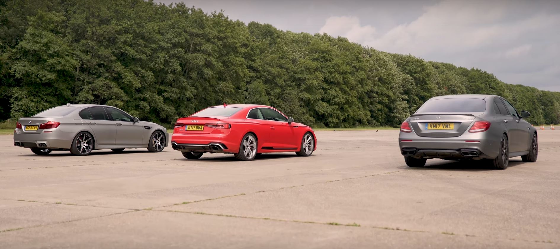 Drag Race: Audi RS5 Is Faster Than the Old M5, But the E63 S Is King ...