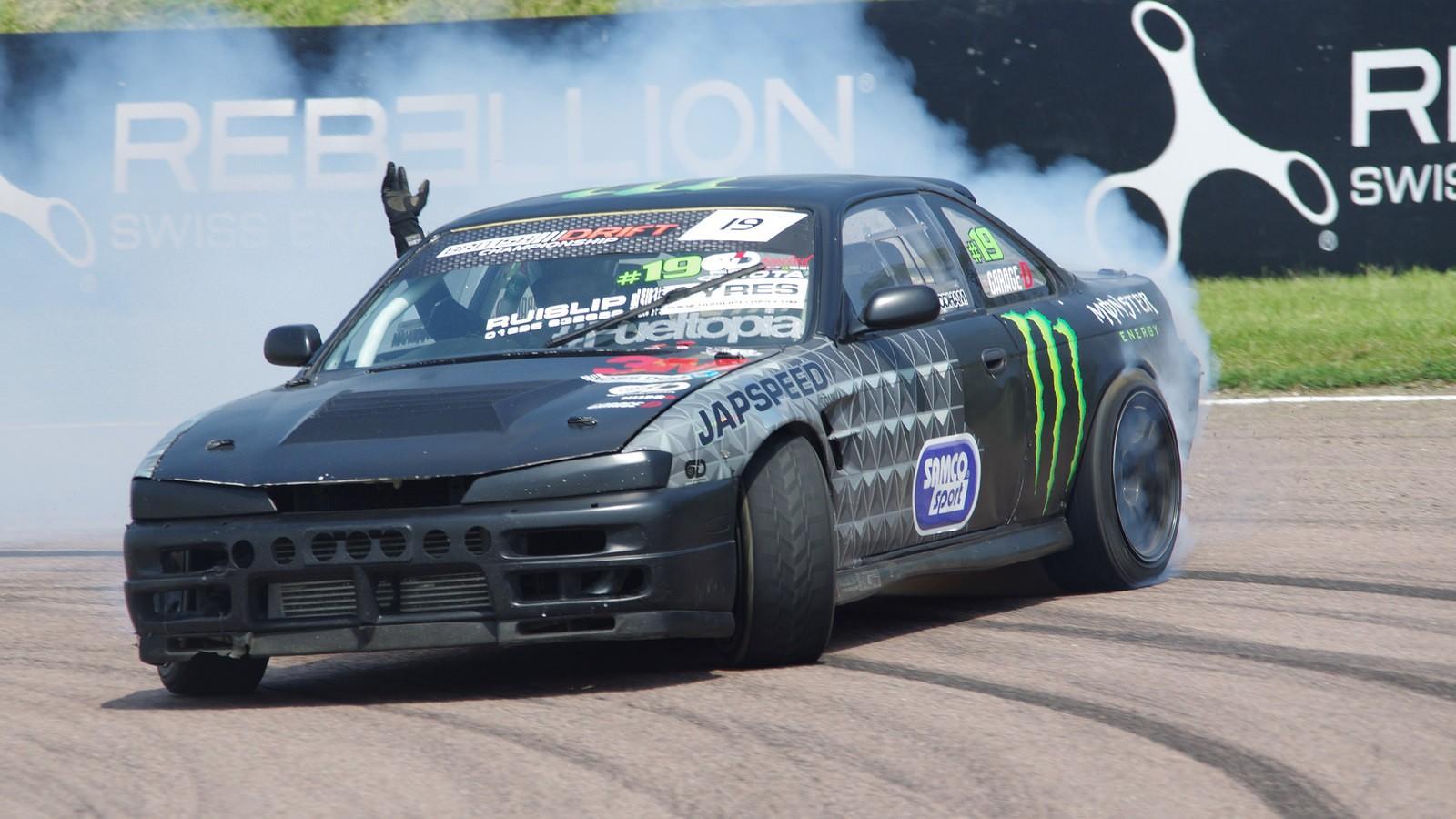 Nissan S200sx S14 Drifting