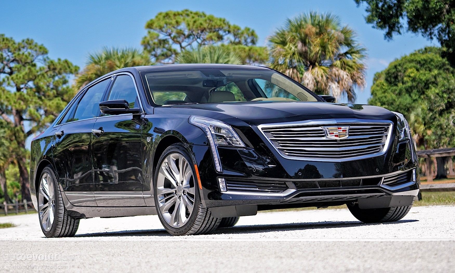 Driven Cadillac Ct Platinum Awd on Largest Cadillac Engine