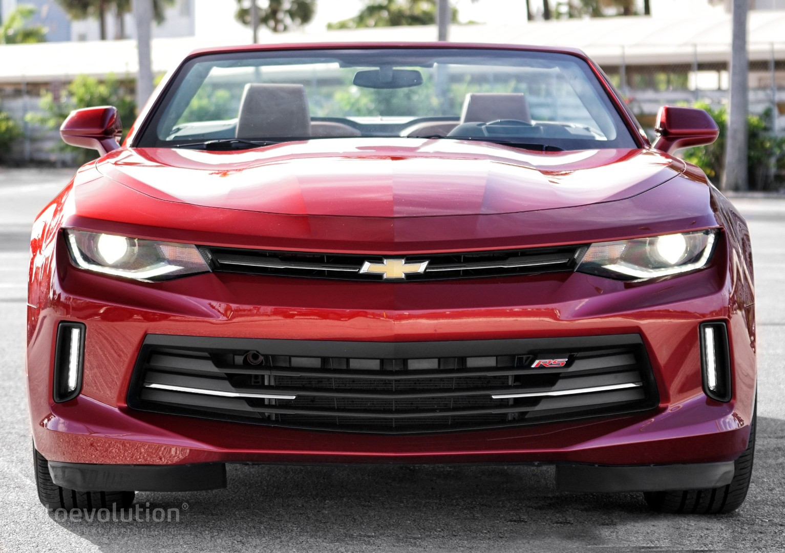 Driven 2016 Chevrolet Camaro Rs Convertible Autoevolution