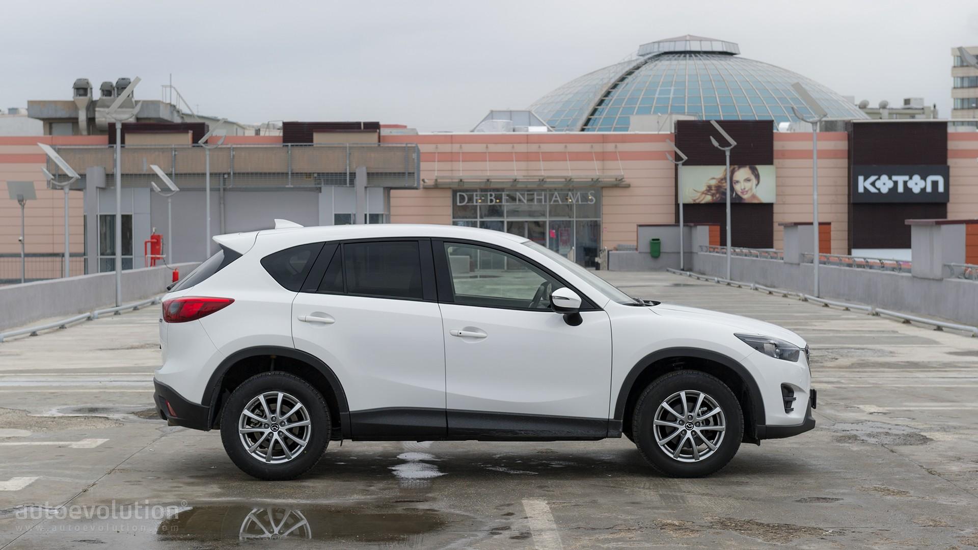 Driven 20165 Mazda CX 5 Farewell Test Autoevolution