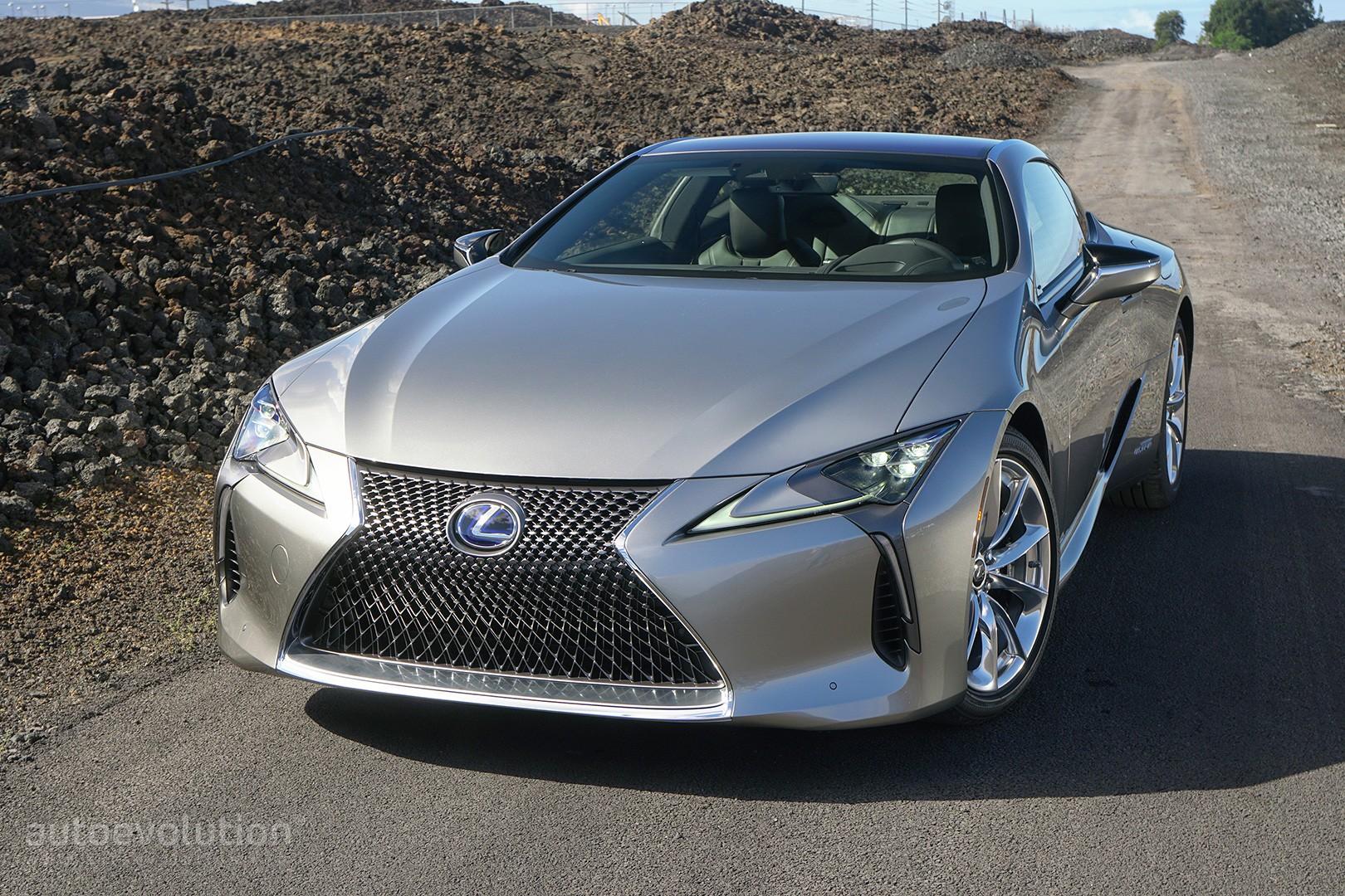 Driven: 2017 Lexus LC 500 and LC 500h - autoevolution
