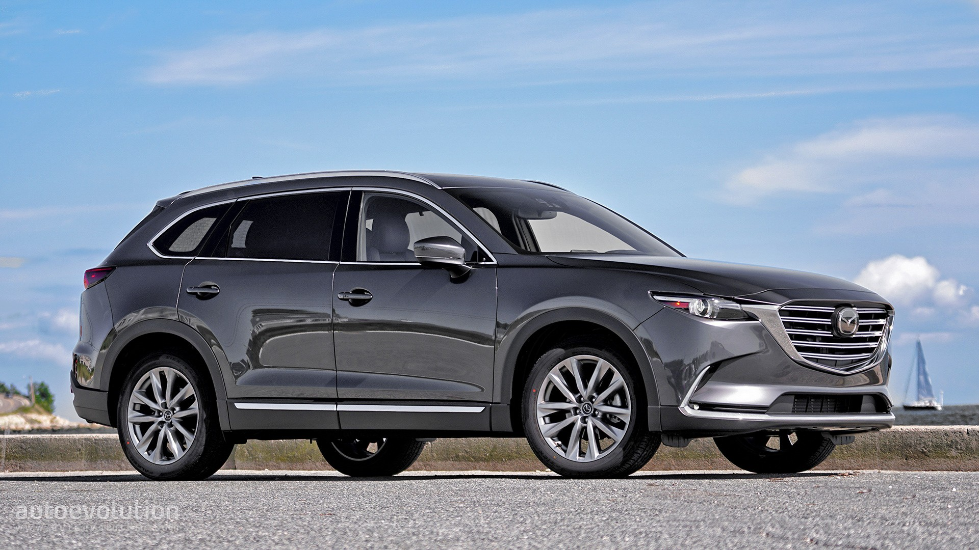 7 Passenger Suv >> Driven: 2017 Mazda CX-9 Signature AWD - autoevolution