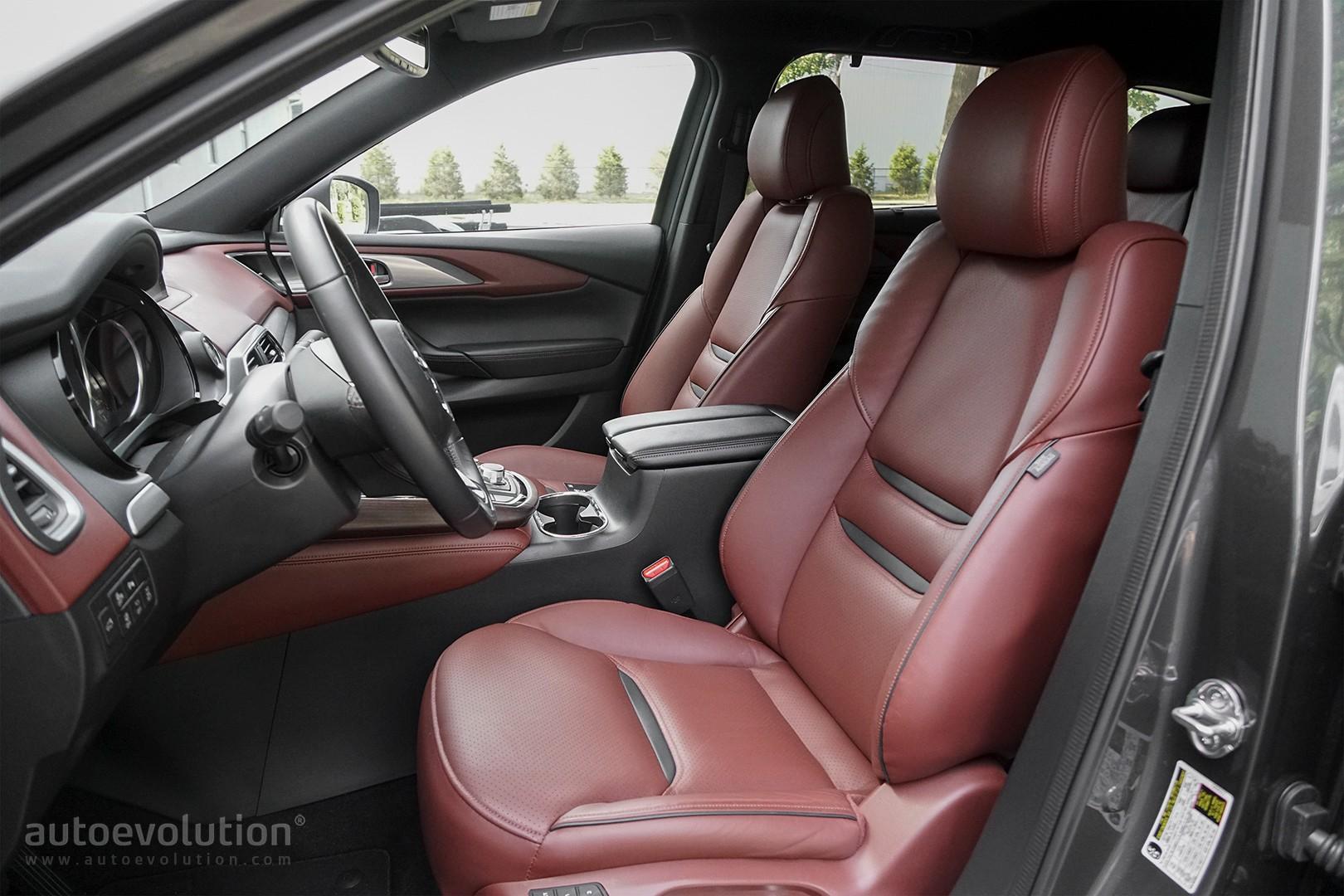 Strange 2017 Mazda Cx 9 Signature Awd Review Testdrive Autoevolution Creativecarmelina Interior Chair Design Creativecarmelinacom