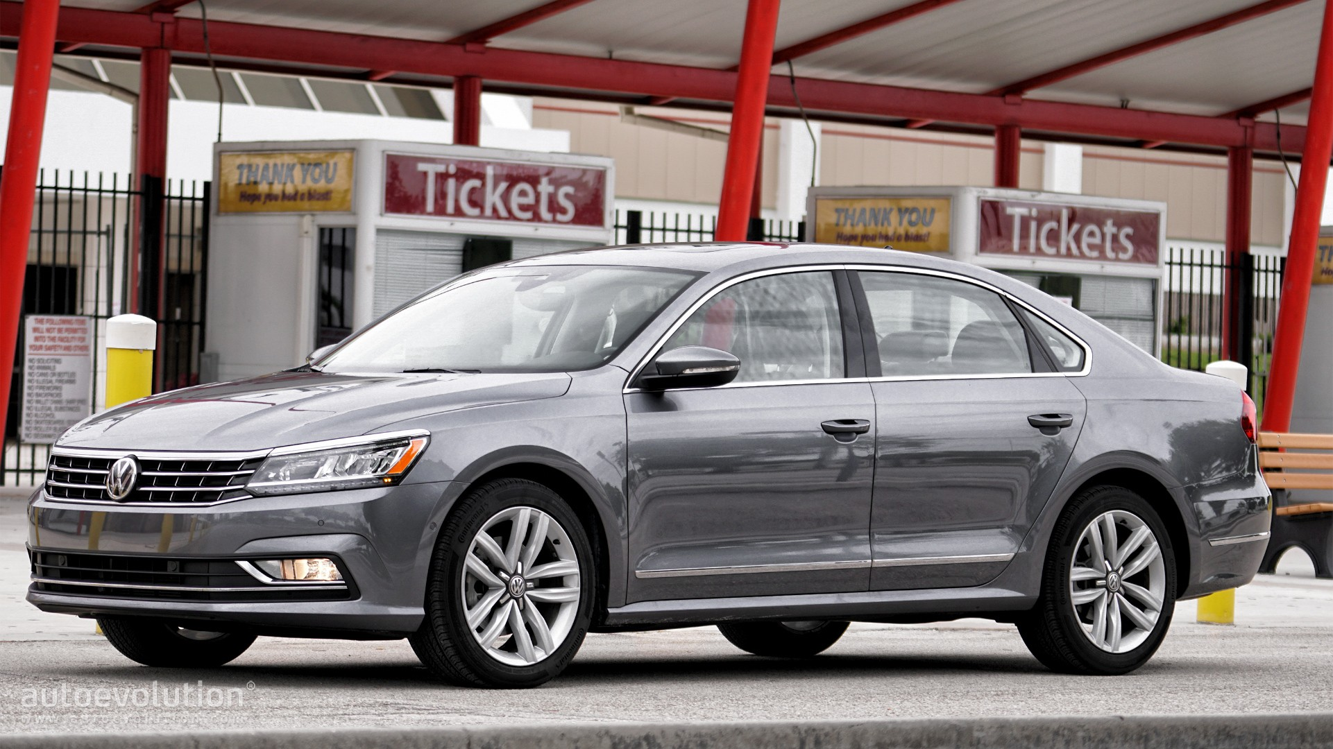 driven 2017 volkswagen passat 1 8t sel premium autoevolution. Black Bedroom Furniture Sets. Home Design Ideas