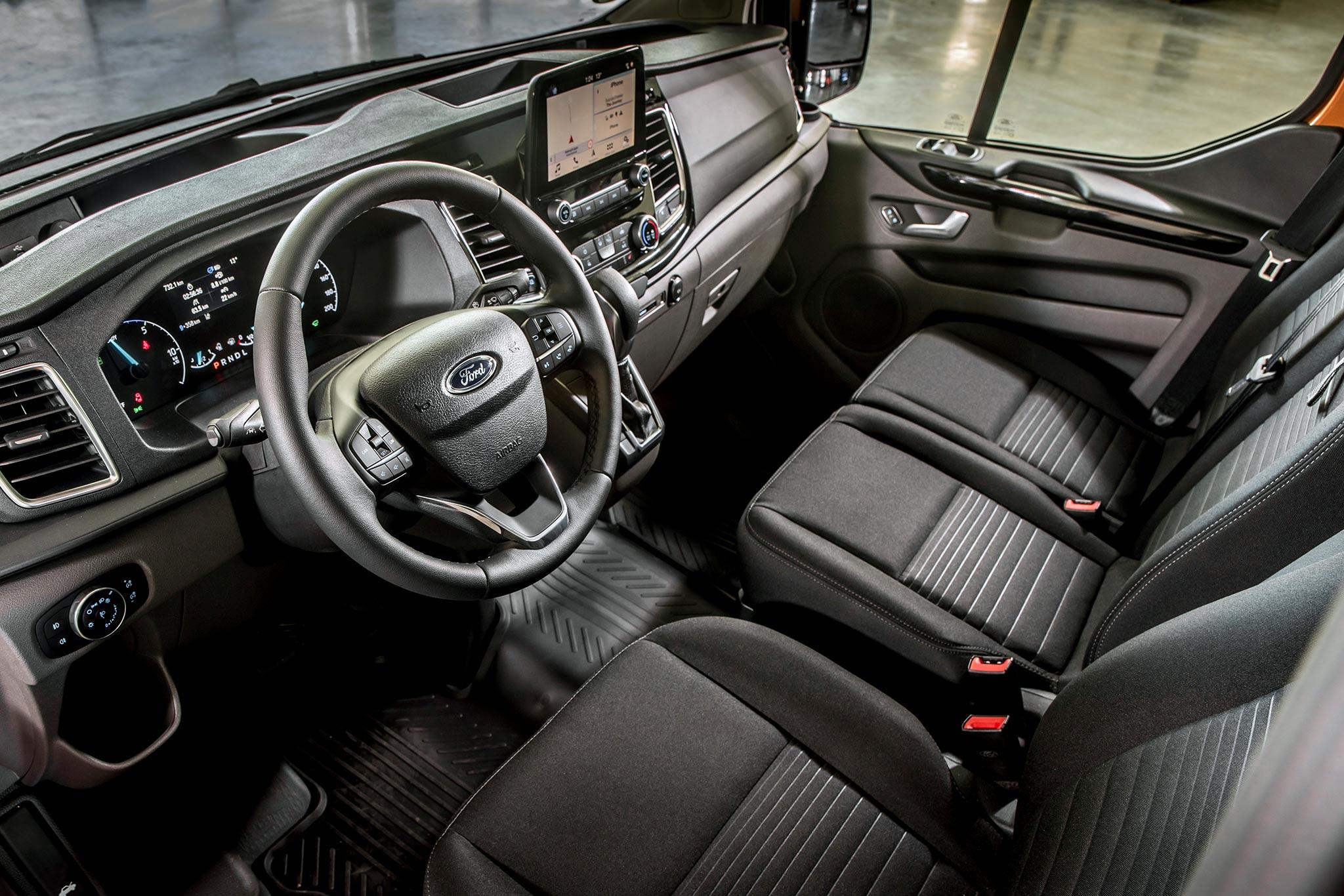 Driven 2019 Ford Transit Turneo Custom Plug In Hybrid Phev Autoevolution