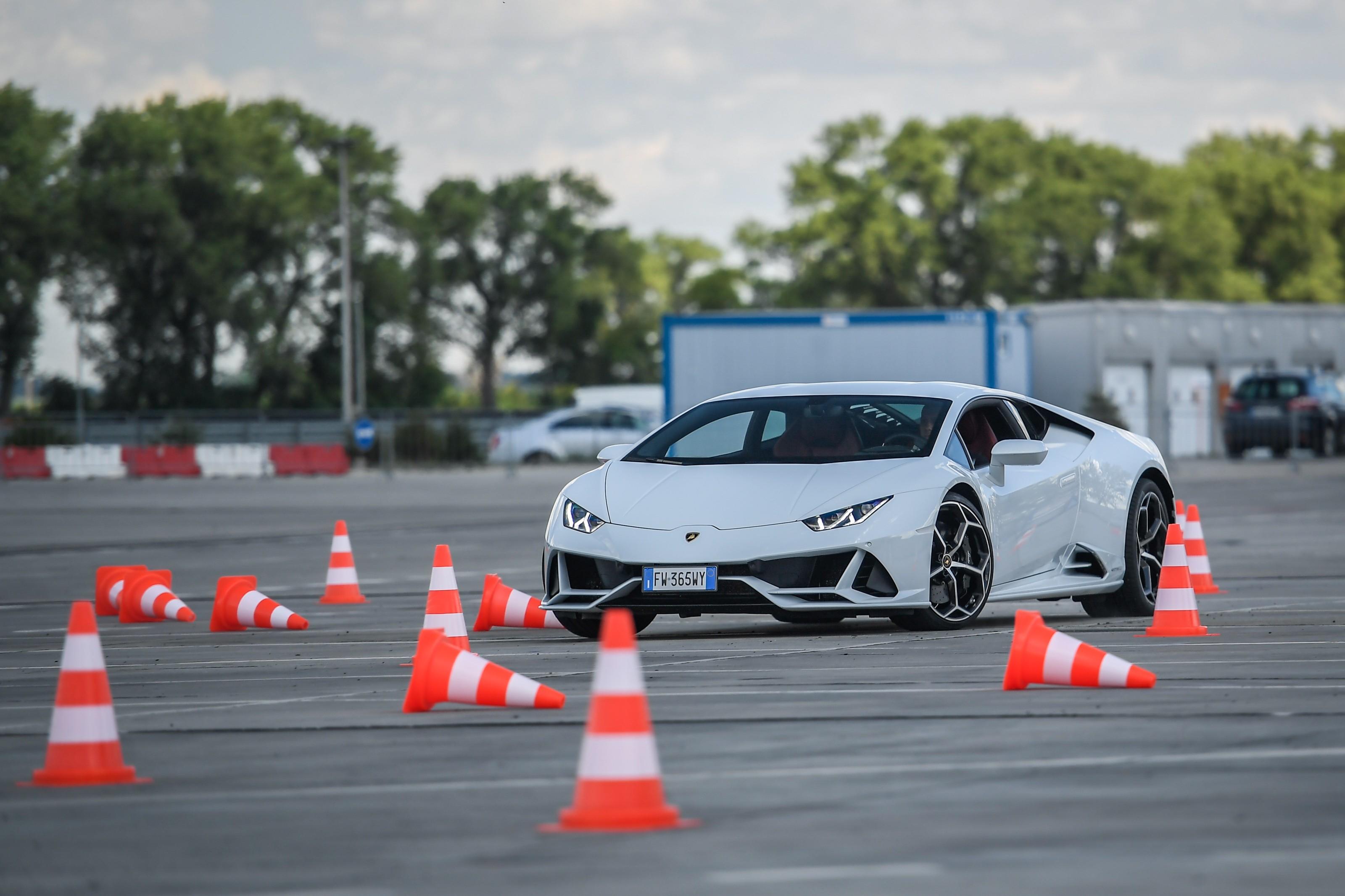 Driven: Lamborghini Huracan Evo Track Test - Artificial