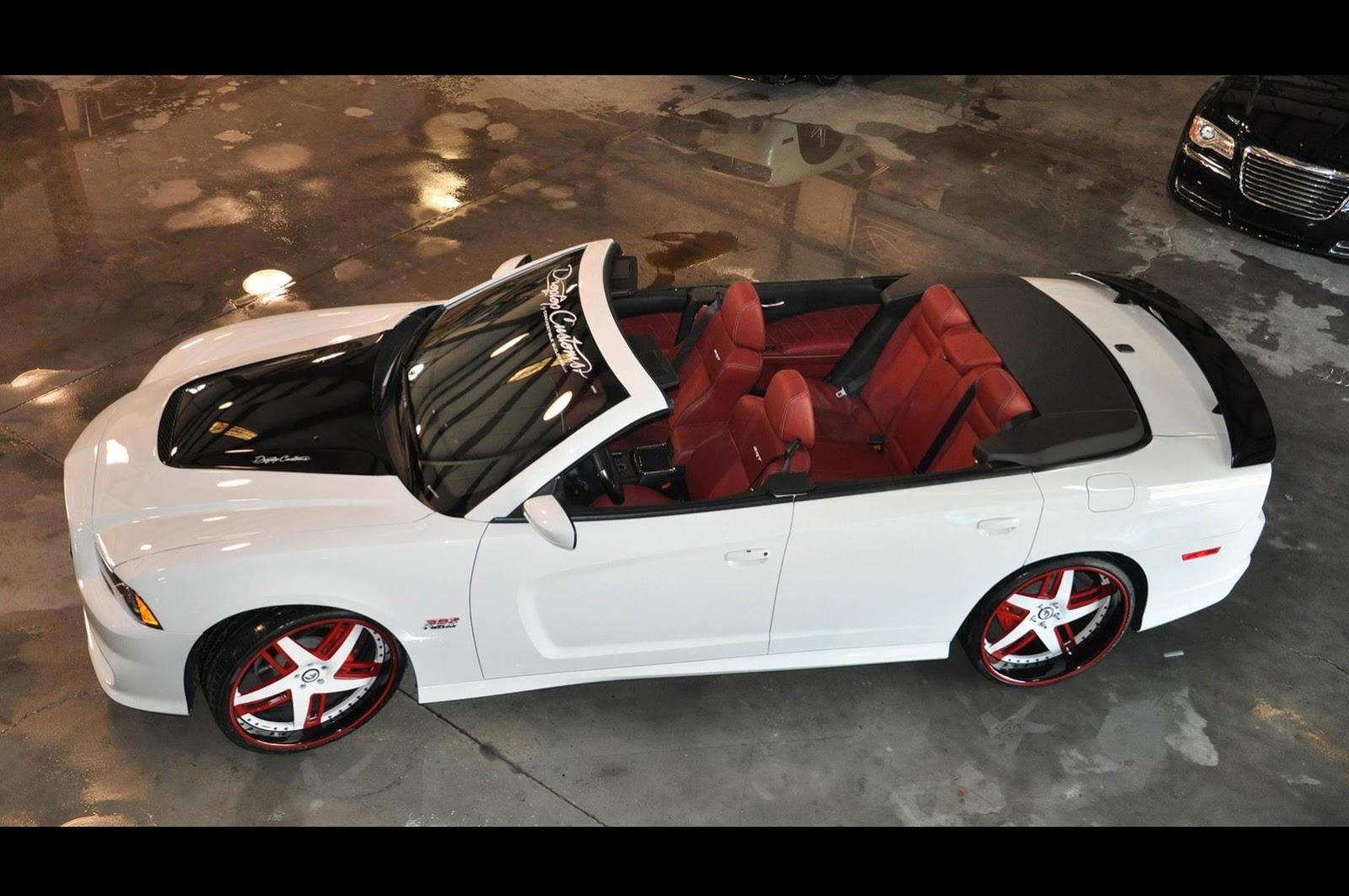 Drop Top Customs Renders Chrysler 300 Sedan Roofless