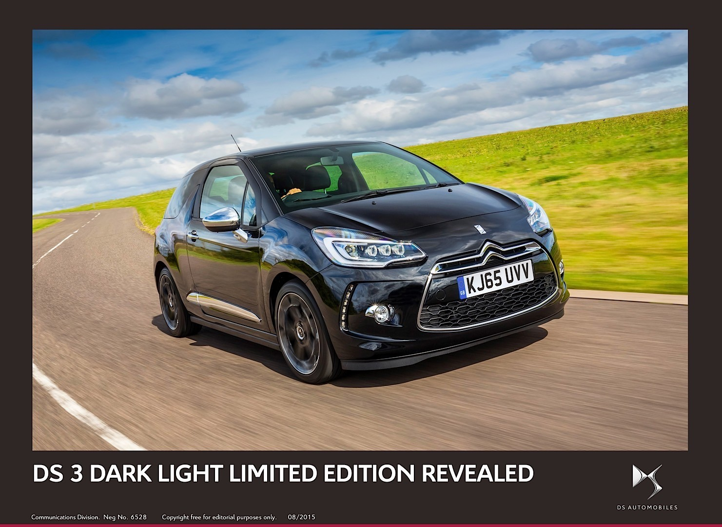 ds3 dark light limited edition comes to frankfurt only 300 units will see daylight autoevolution. Black Bedroom Furniture Sets. Home Design Ideas