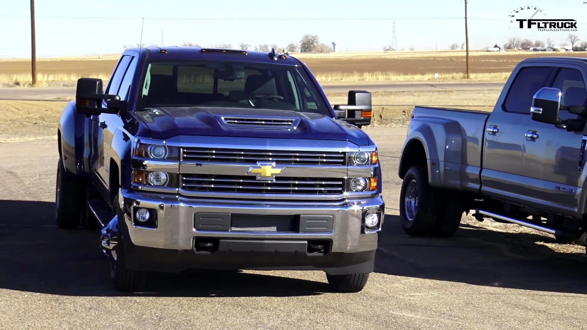 Dually Duel 2017 Ford F 350 Vs Chevy Silverado 3500 Ram