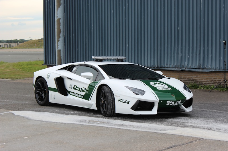 Dubai Police Lamborghini Aventador Recreated In Holland