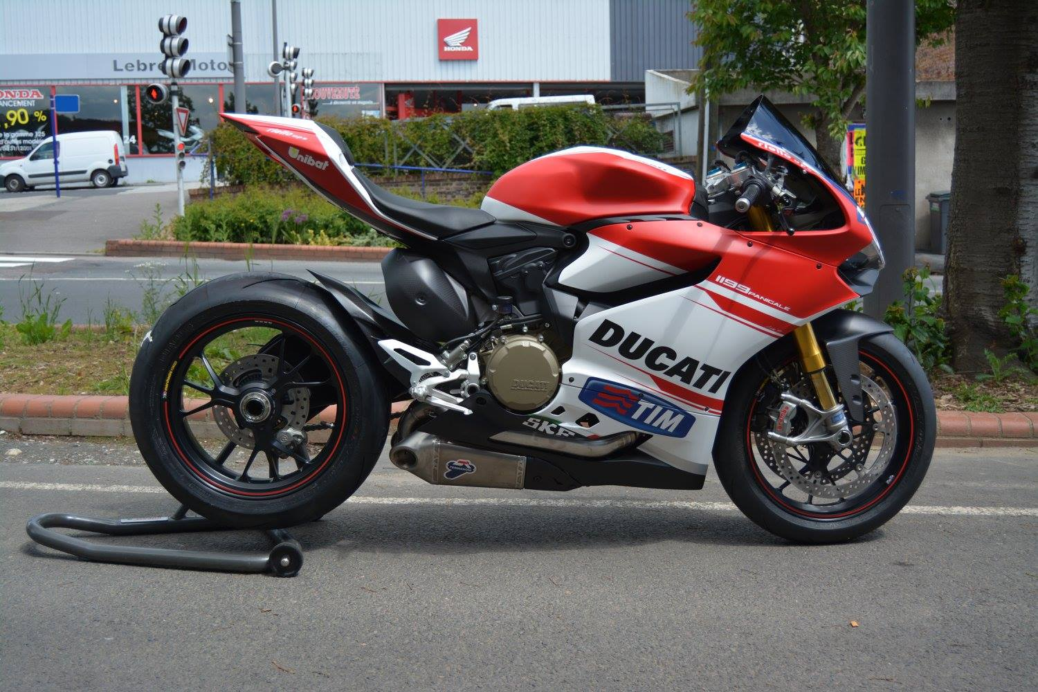Ducati 1199 Panigale S Dovizioso Replica Is Real Bikeporn