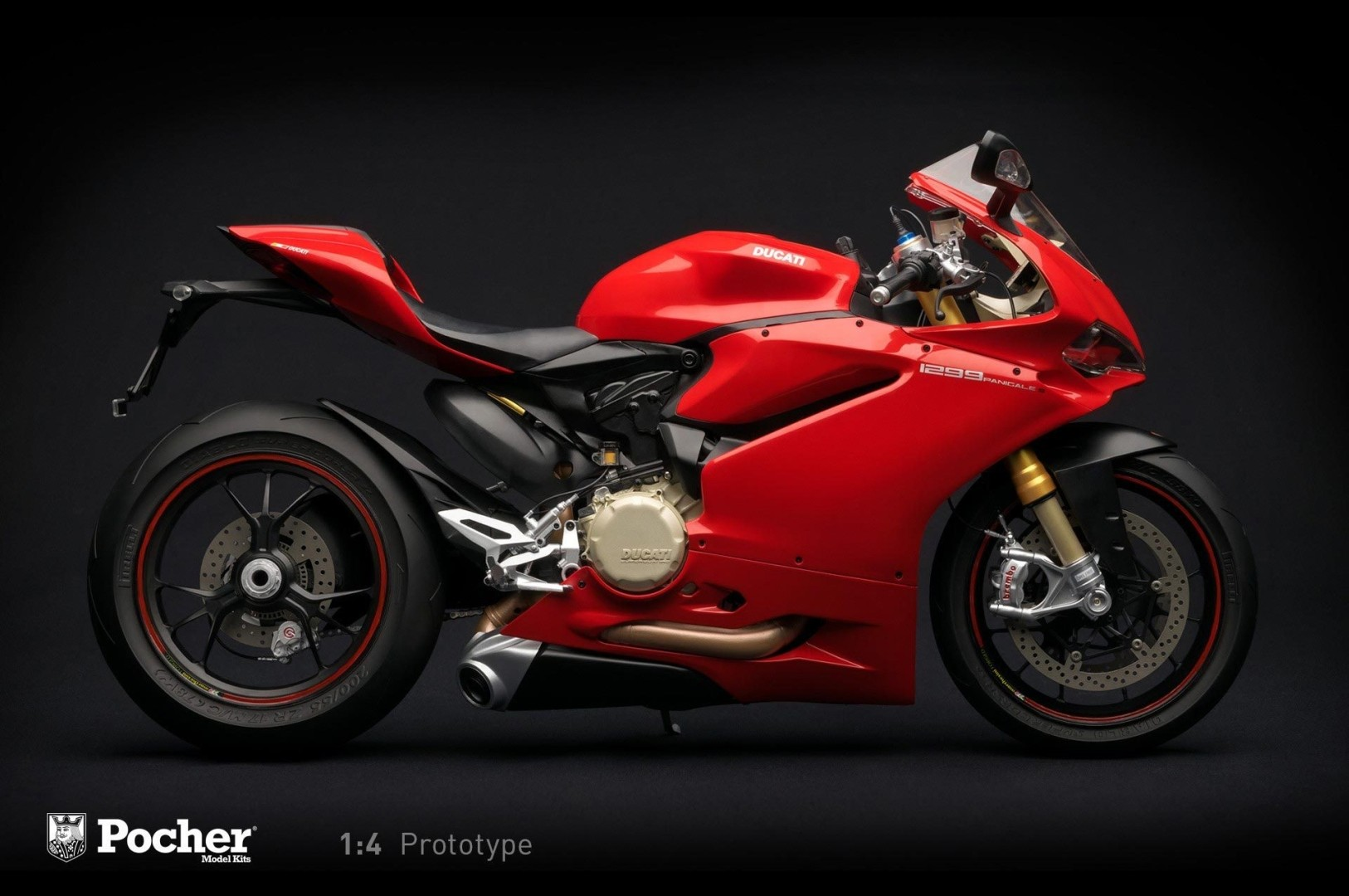Ducati 1299 Panigale S 1 4 Scale Model Is The Ultimate