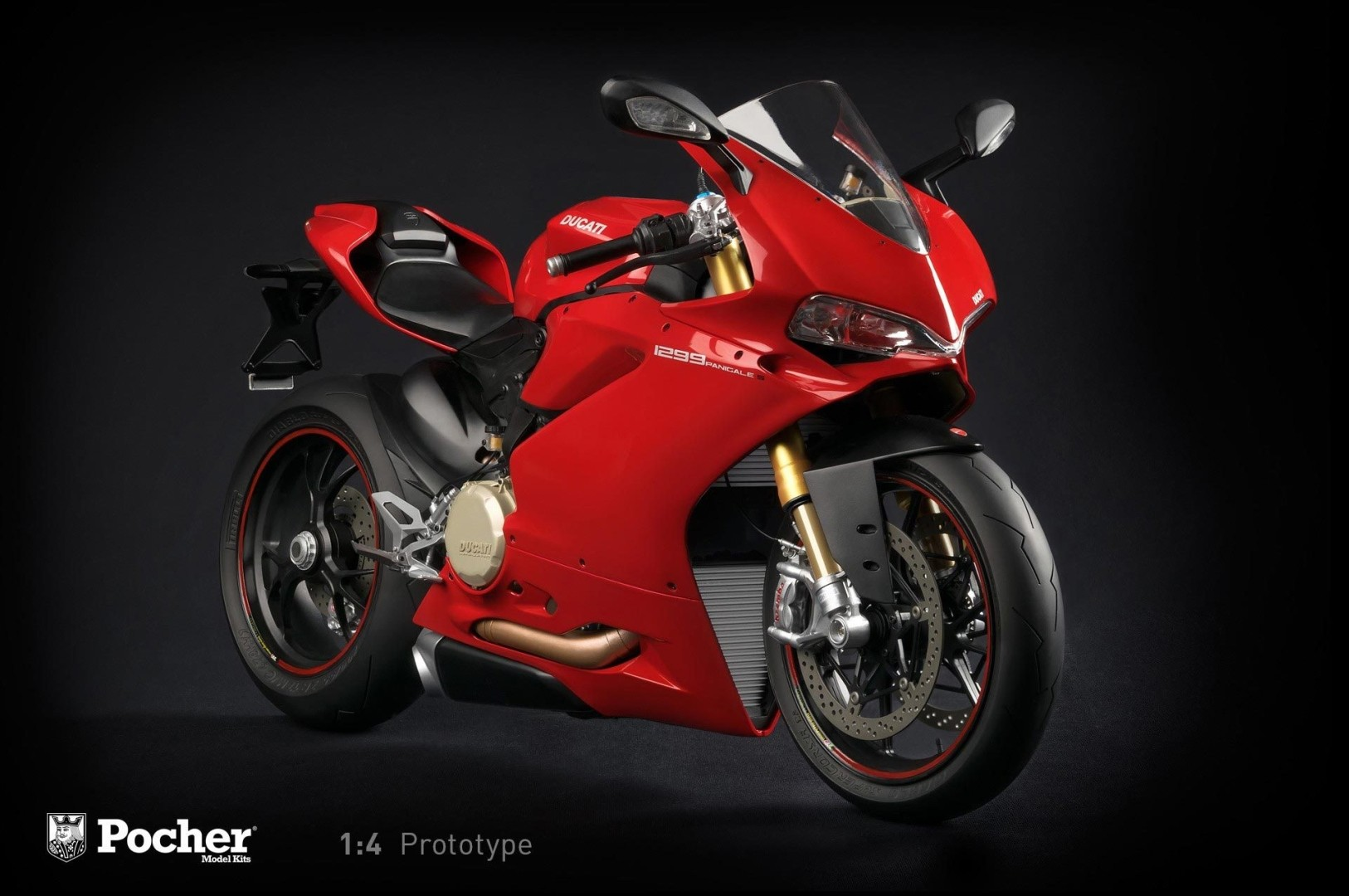 Ducati 1299 Panigale S 1:4 Scale Model Is the Ultimate Christmas