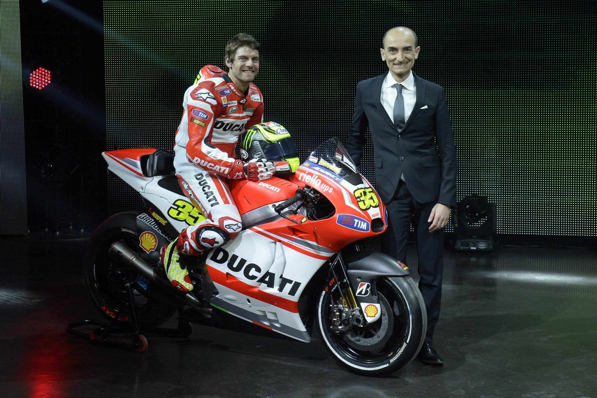 Ducati 2014 Motogp Team Presented In Germany Autoevolution
