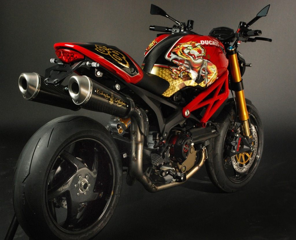 Ducati Monster 1100 By Rever Corsa And Christian Audigier