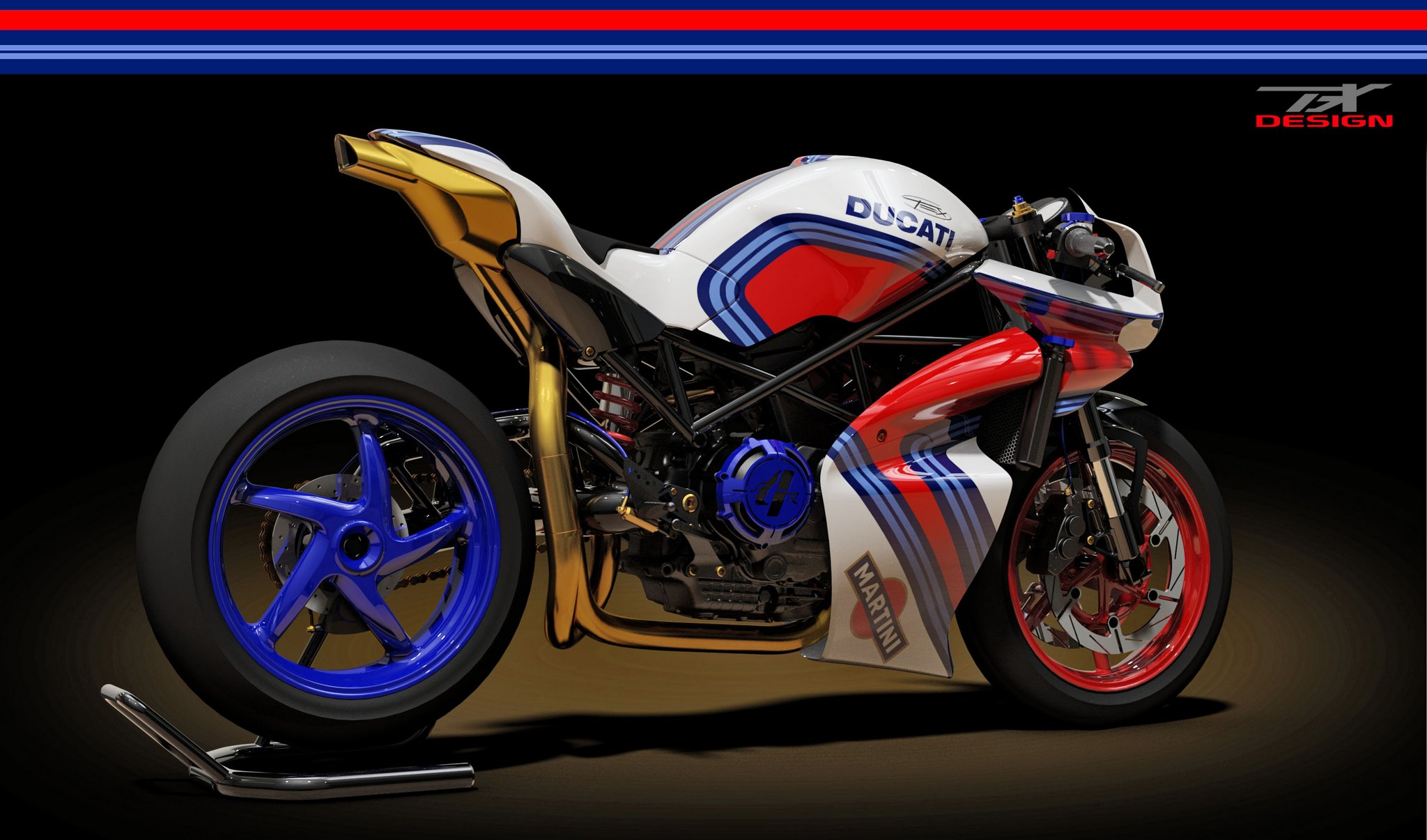 Ducati Monster Cafe Racer To Die For Rendered By Paolo