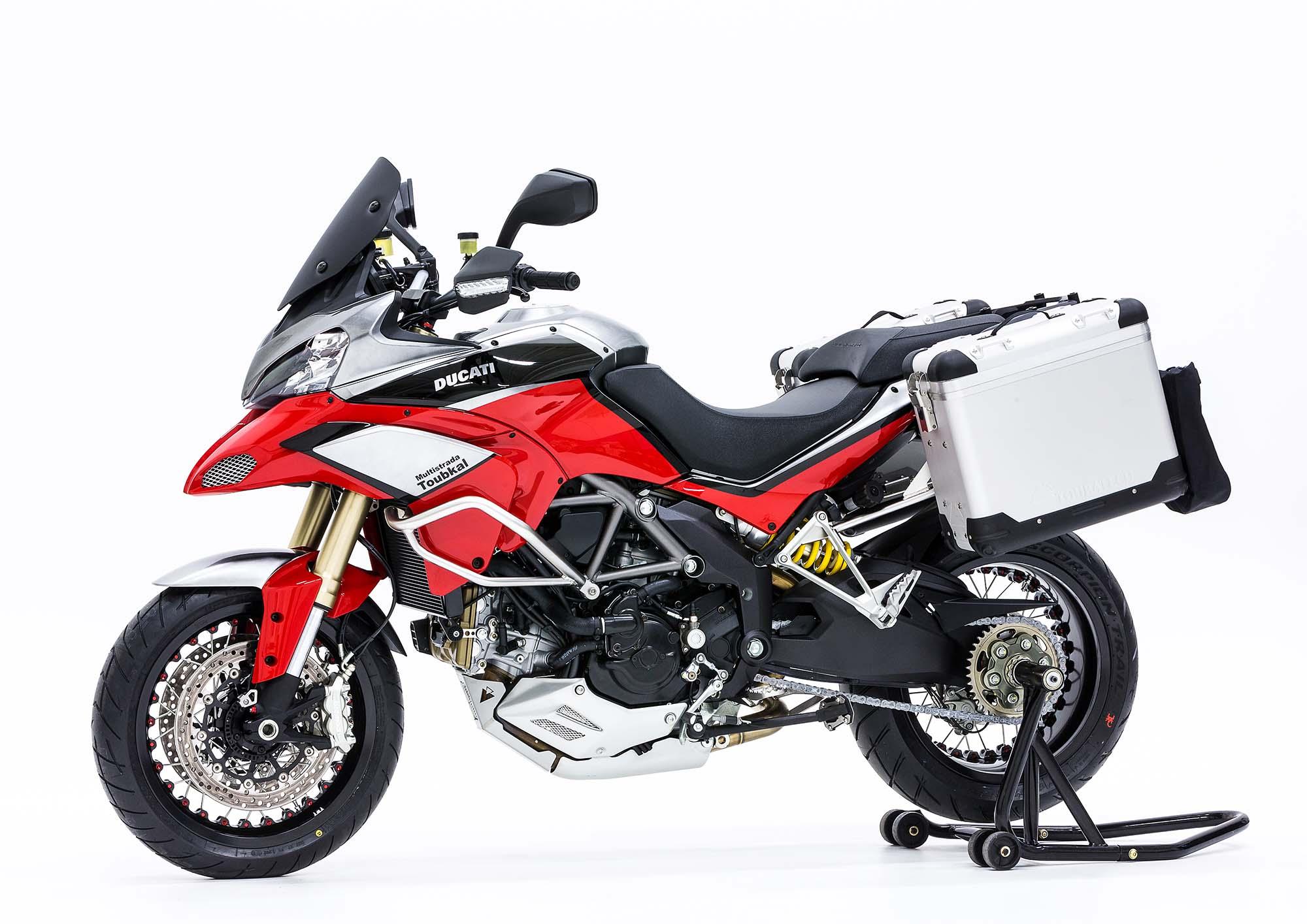 Ducati Multistrada 1200 Toubkal A Good Design Lesson For