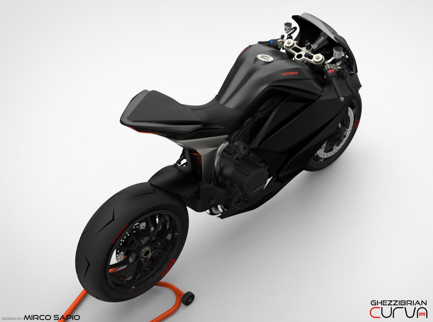 Ducati Panigale Curva 1190 By Ghezzi Brian And Mirco