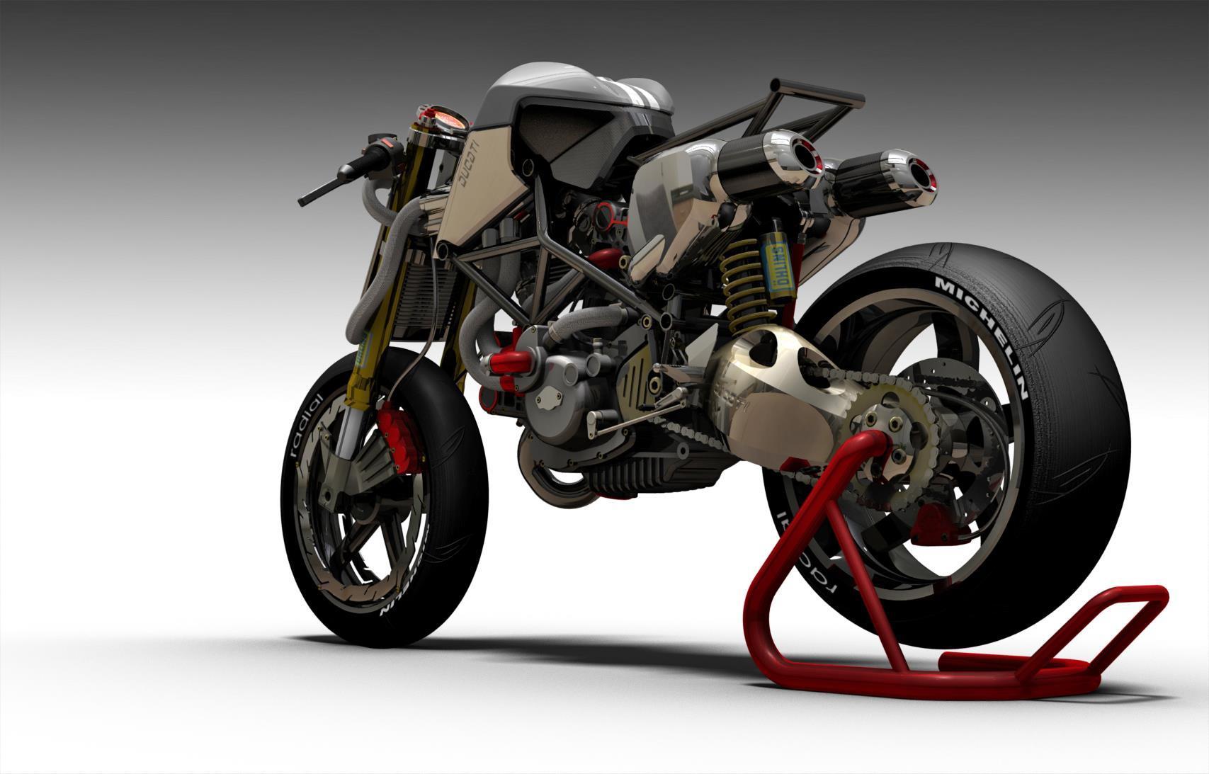 Ducati S2 Braida Concept Fighter By Paolo Tesio