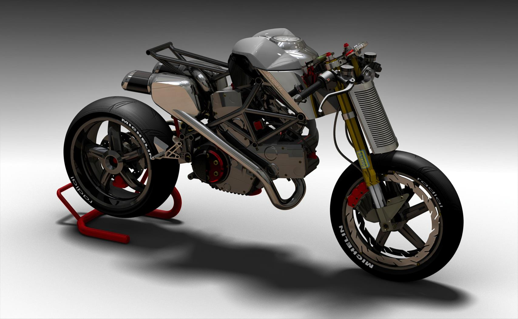 Ducati S2 Braida Concept Fighter By Paolo Tesio