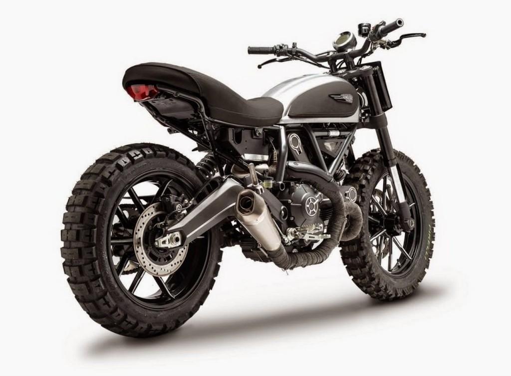Ducati Scrambler Dirt Track Concept Is One Evil Machine - Photo ...