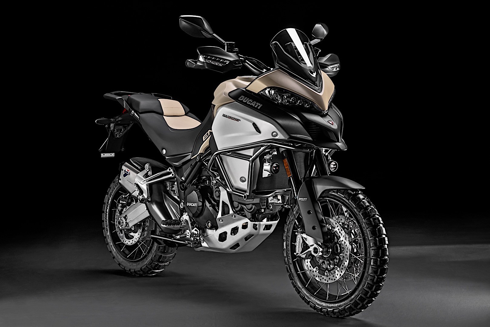 2018 ducati multistrada 1200 enduro pro gets unveiled autoevolution. Black Bedroom Furniture Sets. Home Design Ideas