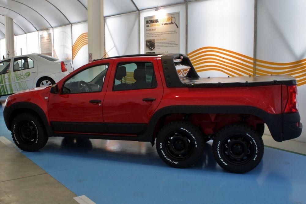 dustruck dacia builds duster 6x6 pickup autoevolution. Black Bedroom Furniture Sets. Home Design Ideas