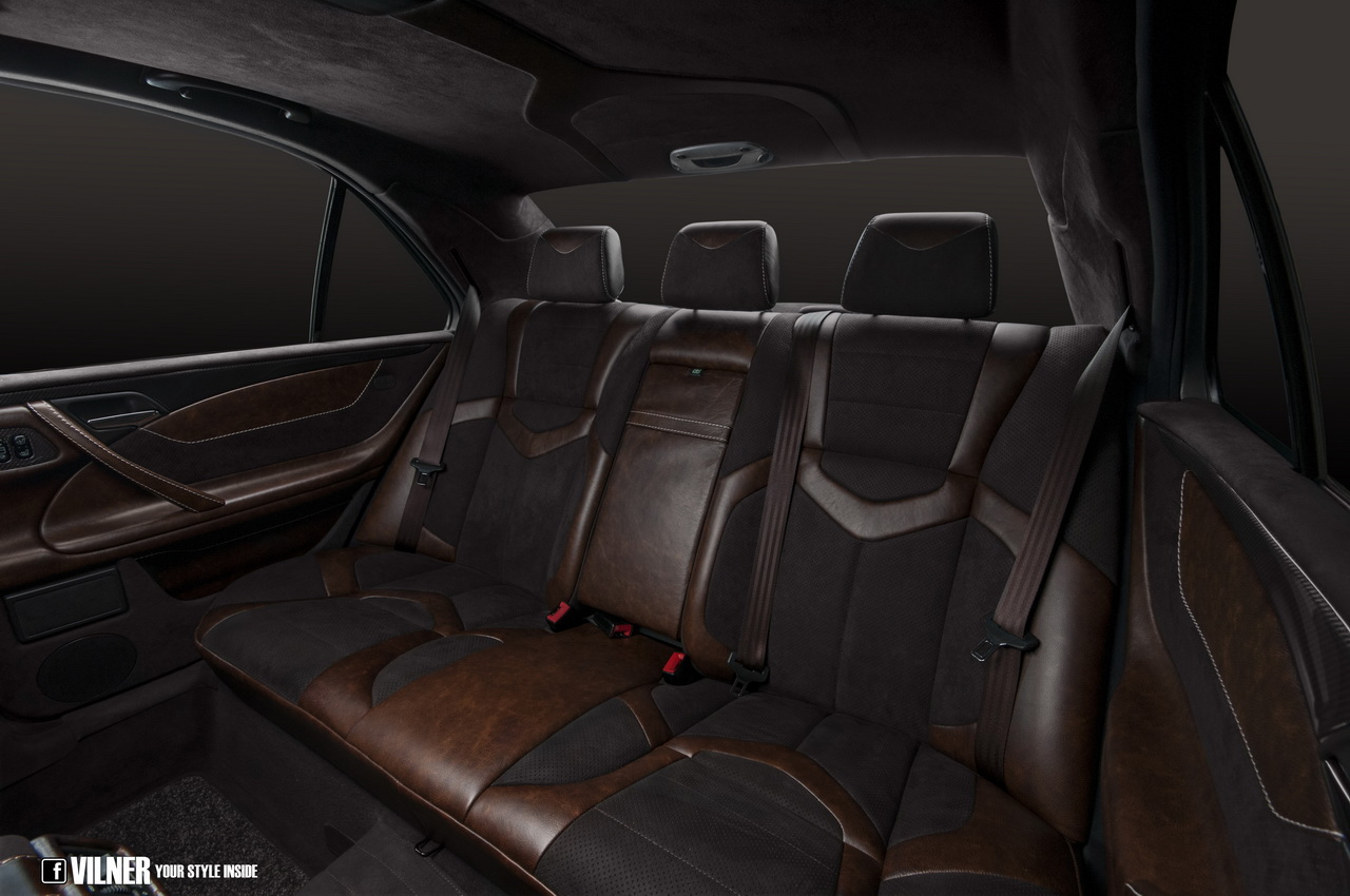 E 55 Amg 4matic W210 Interior Gets Attacked With Leather