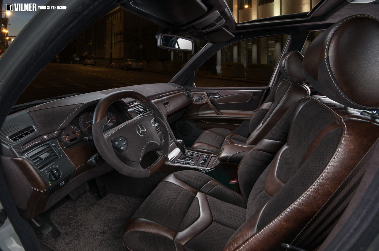 E 55 Amg 4matic W210 Interior Gets Attacked With Leather By Vilner Photo Gallery 82076 on mercedes sprinter logo