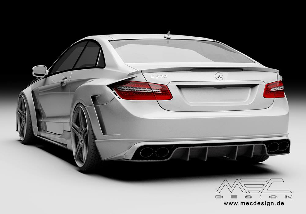 Car Body Types Explained >> E-Class Coupe C207 Gets a Wide Bodykit From MEC Design - autoevolution
