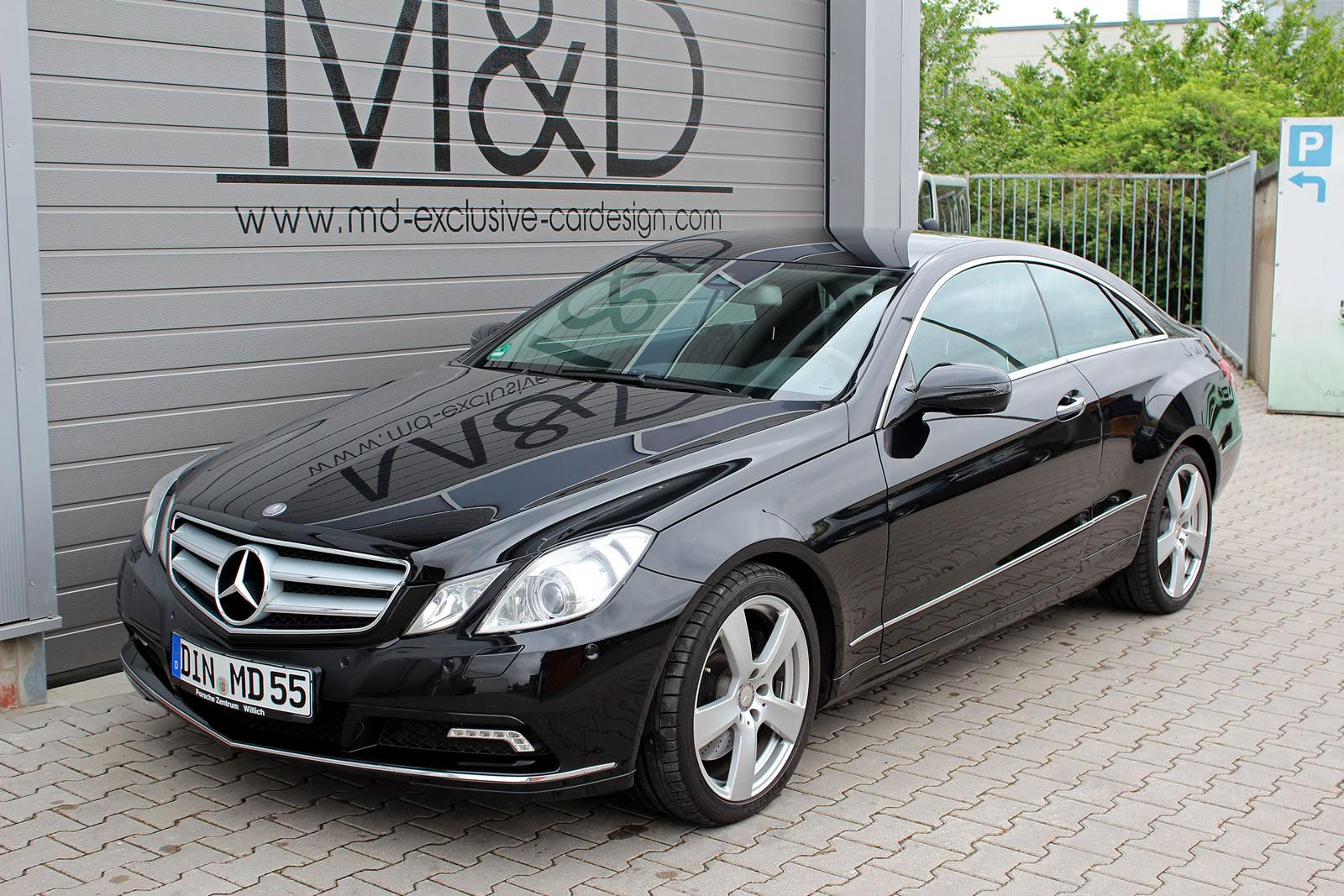 E Class Coupe Pd850 Black Edition By Md Exclusive