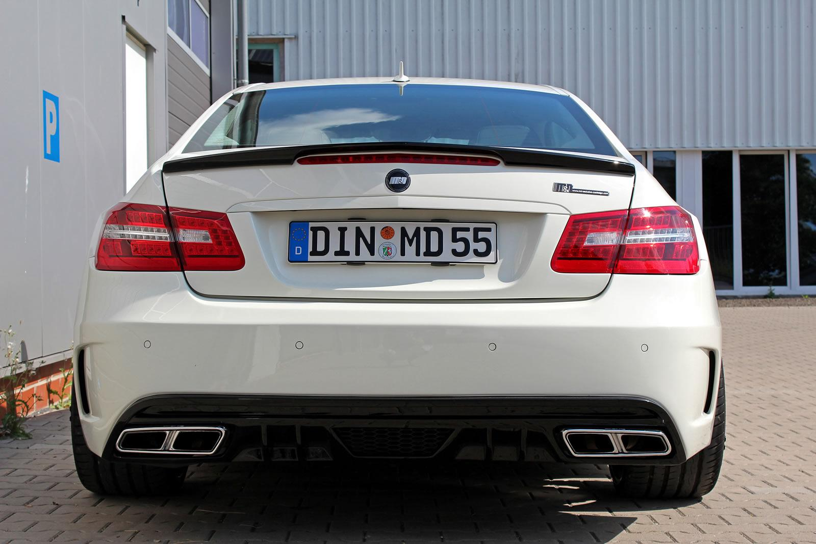 E class coupe pd850 black edition by md exclusive for Mercedes benz md
