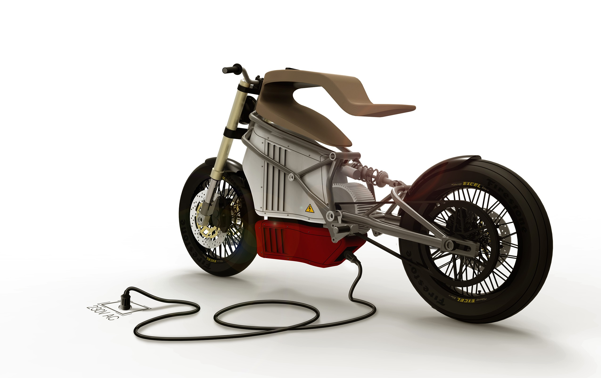 E-Raw Is an Electric Cafe-Racer Prototype with a Truly Raw ...